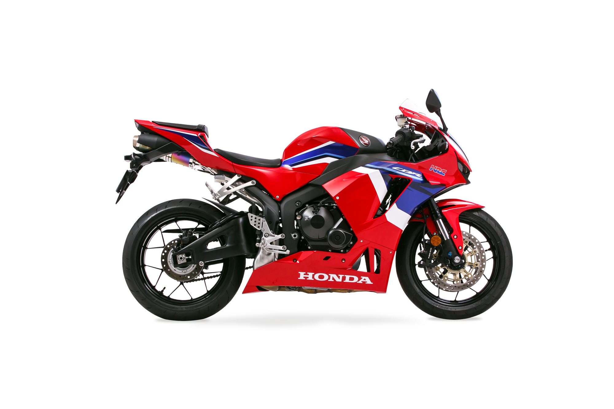 CBR600RR 21-  Slip-On Exhaust ZERO ANO