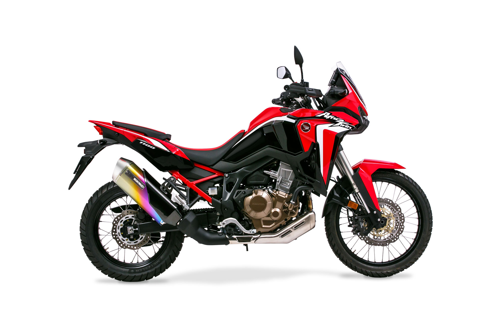 CRF1100L AfricaTwin 20- Slip-On Exhaust MX ANO