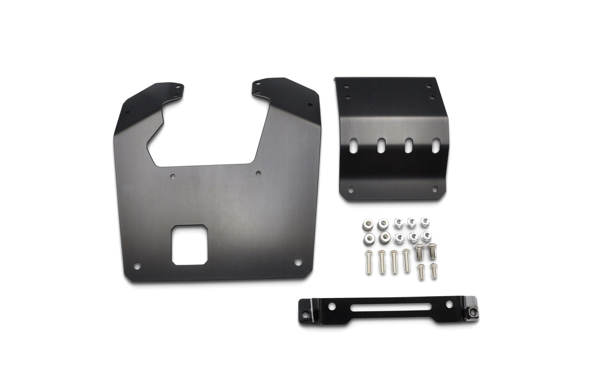 CT125 20-  SKID PLATE BLACK