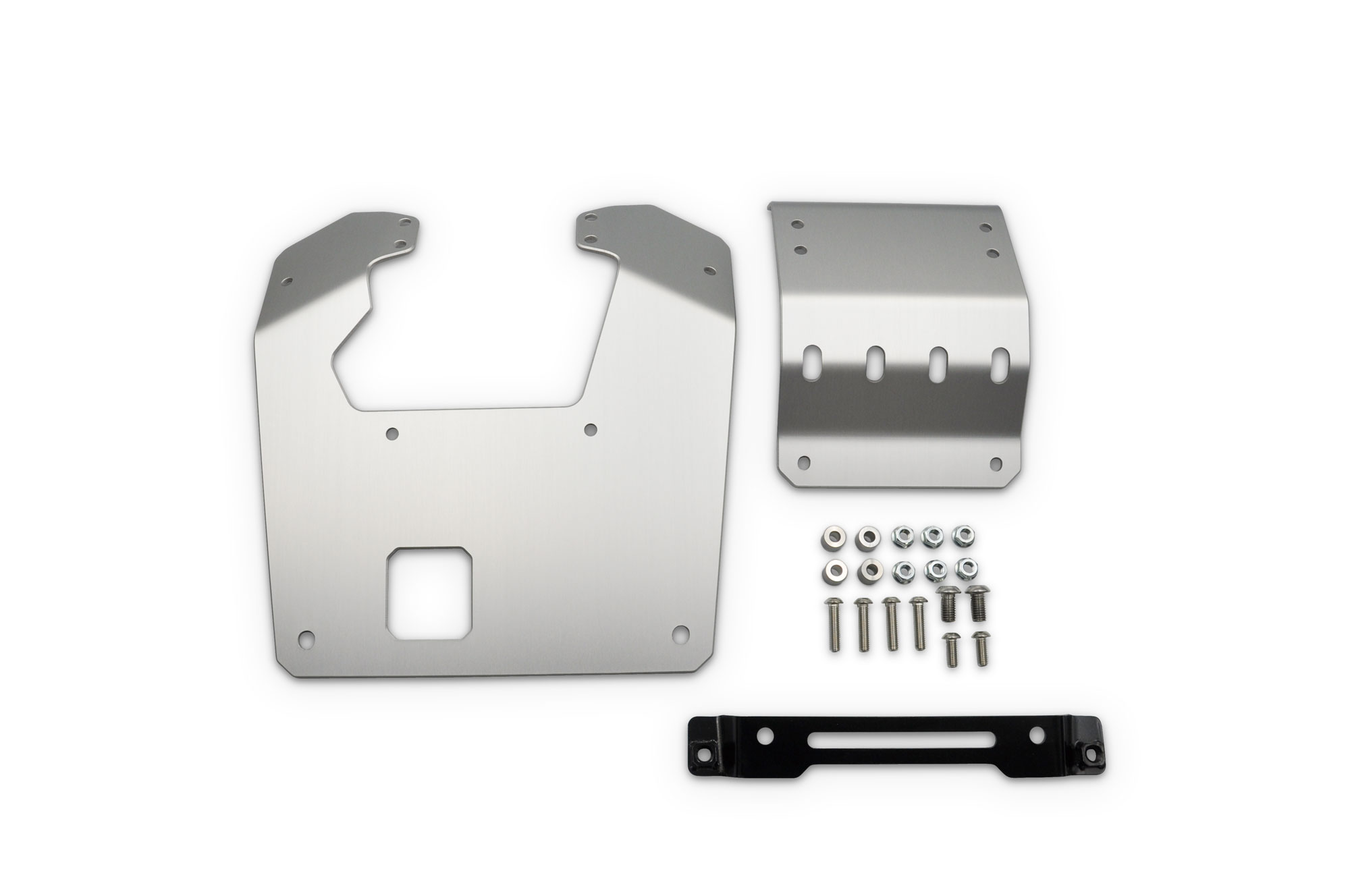 CT125 20-  SKID PLATE SILVER