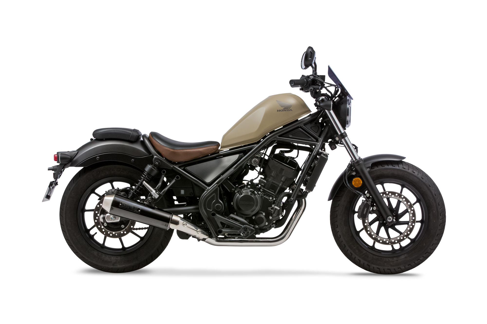 REBEL250 17- SlipOn Exhaust NEO CLASSIC  BP-X