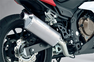 CBR400R 16-18 SlipOn Exhaust MXR WT