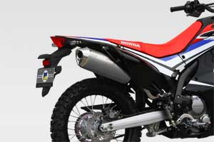 CRF250L/M/Rally 17- SlipOn Exhaust MX WT