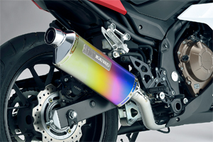 CBR400R 16-18 SlipOn Exhaust MXR ANO