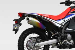CRF250M/L/Rally 17- SlipOn Exhaust MX ANO