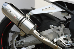 HRC CBR250RR 17-19/20- SlipOn Exhaust MX RACING SUS