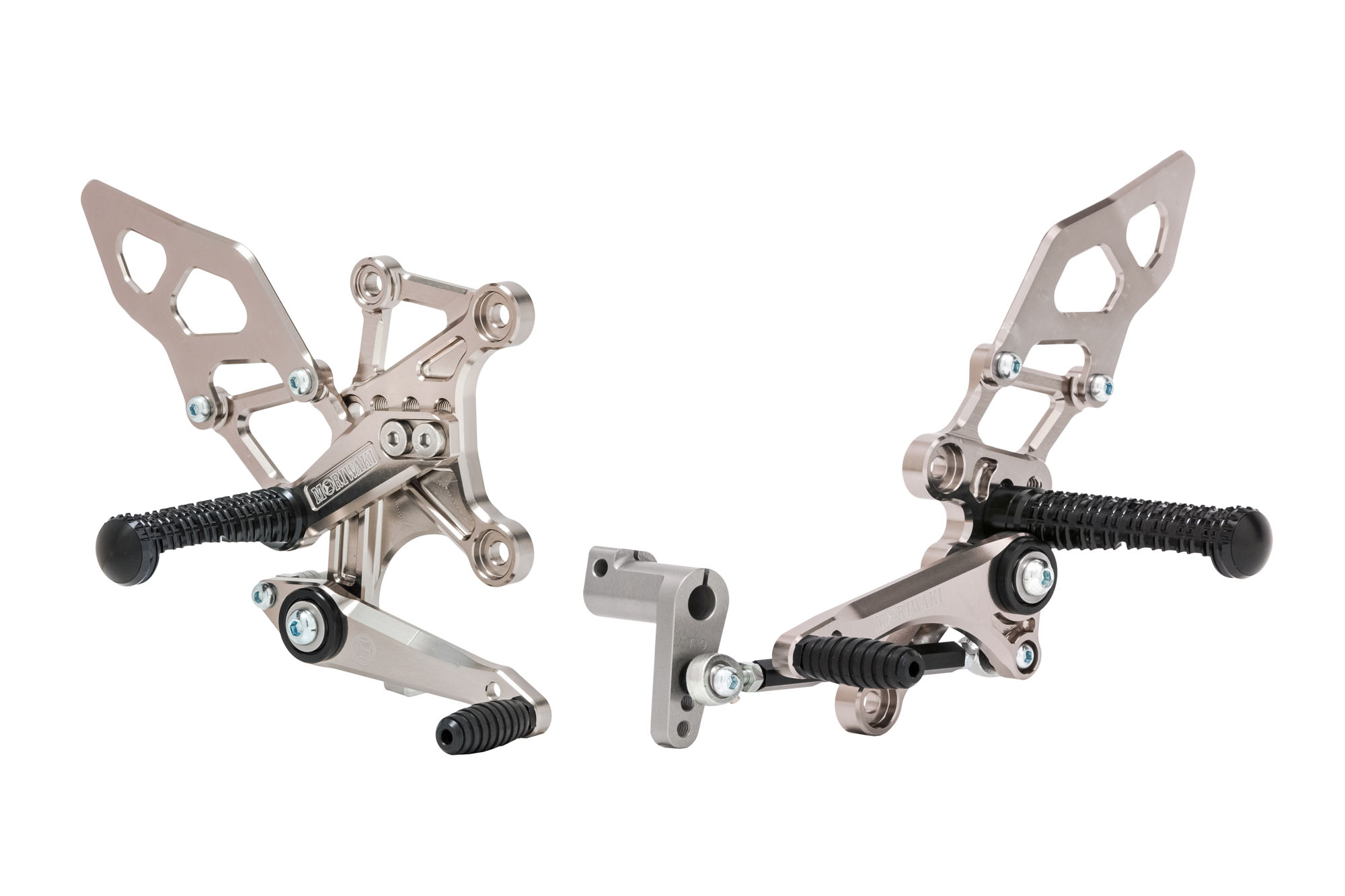 Ninja400/250 18-、Z250/400 19- BACK STEP KIT Ti Gold