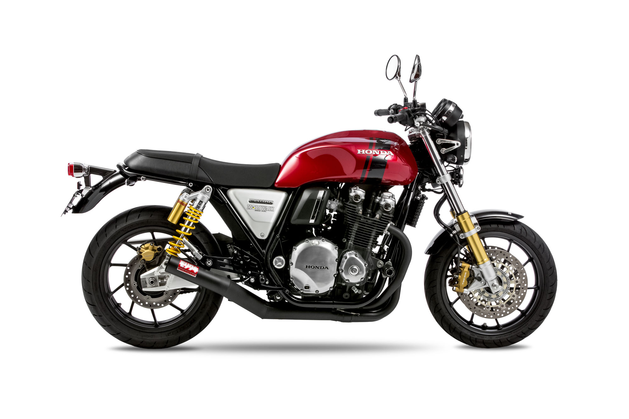 CB1100 19-、CB1100EX/RS 17- FullExhaust ONE-PIECE BK