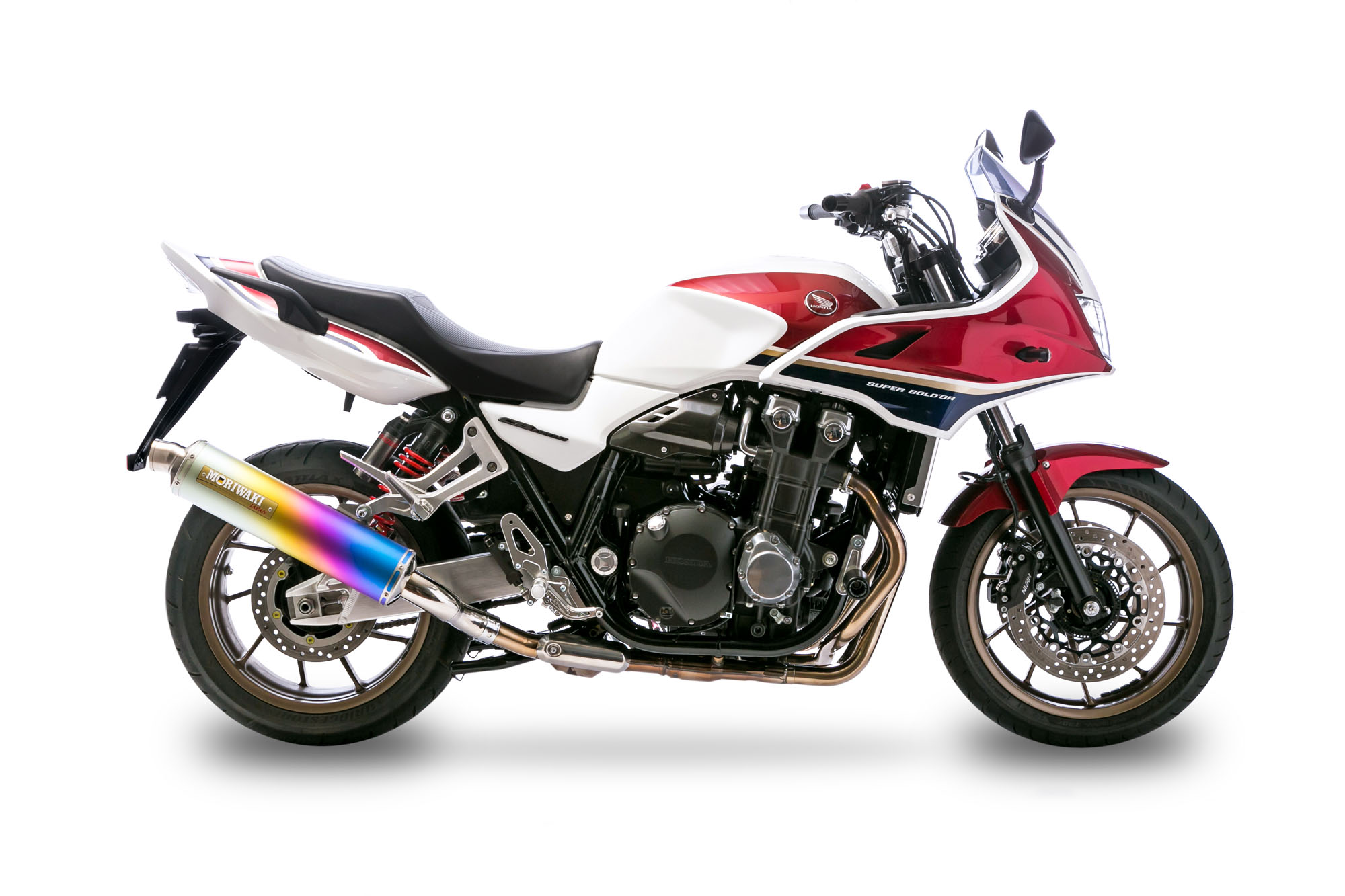 CB1300SF/SB 18-、CB1300SB 14-  SlipOn Exhaust ZERO ANO