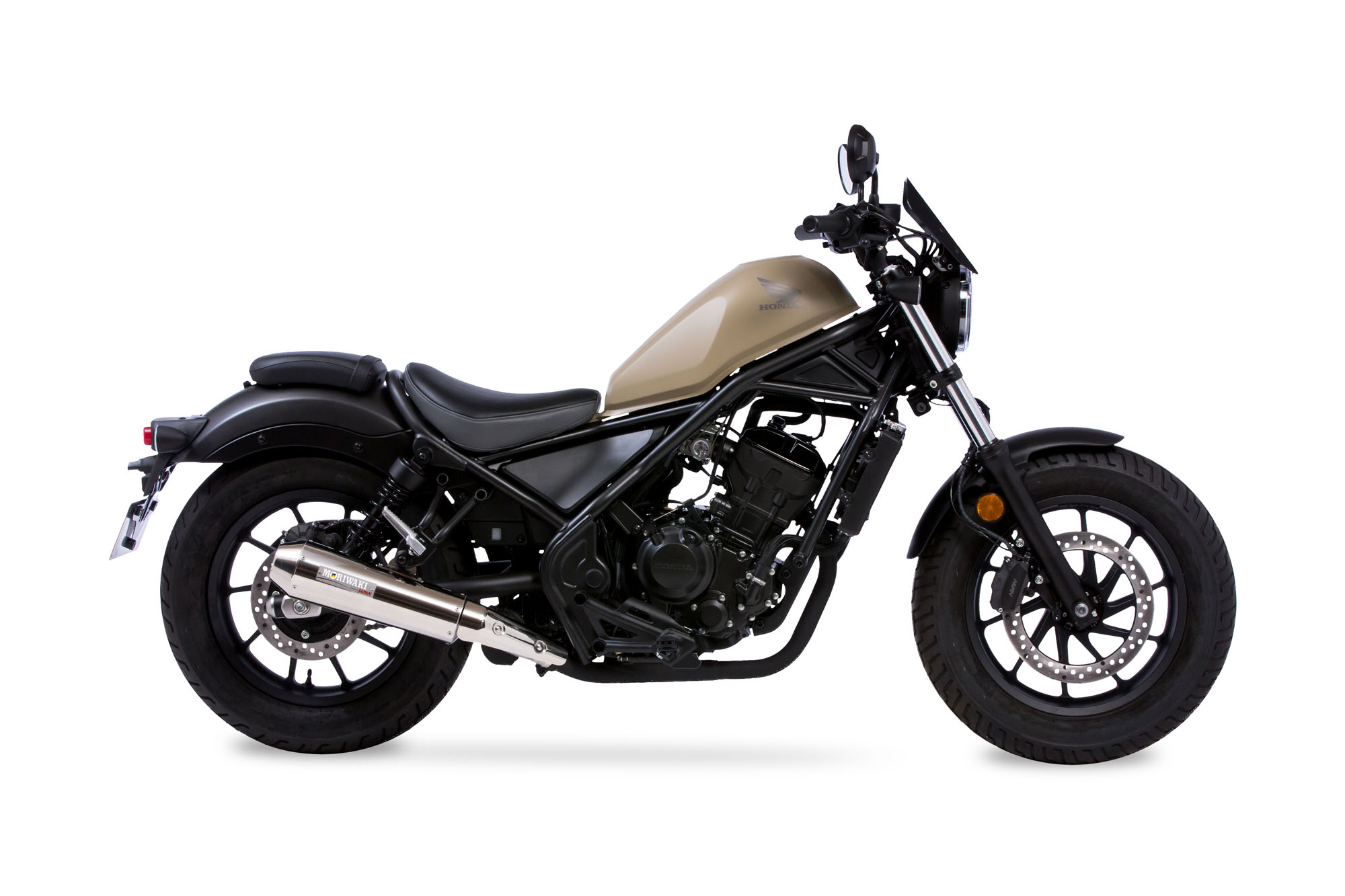REBEL250 17- SlipOn Exhaust NEO CLASSIC SUS