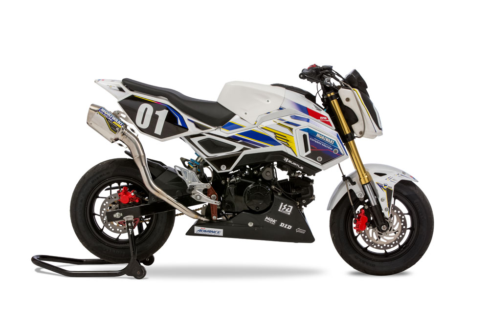 HRC GROM 16-20 SlipOnExhaust MX RACING SUS SPEC2
