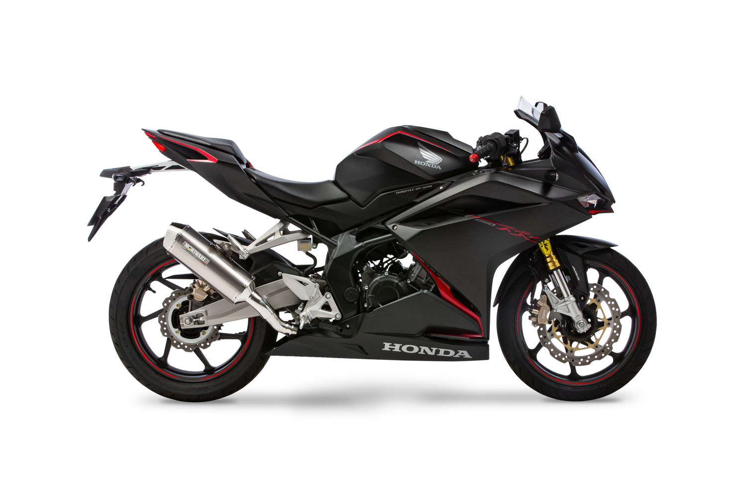 CBR250RR 17-/20- SlipOn Exhaust MX WT