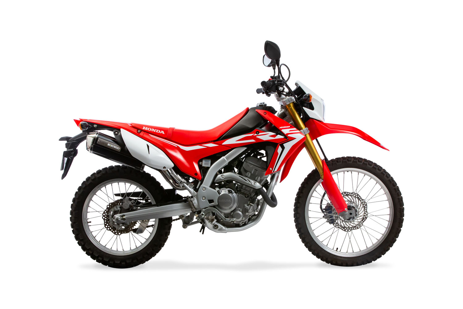 CRF250L/M/Rally 17- SlipOn Exhaust MX BP-X