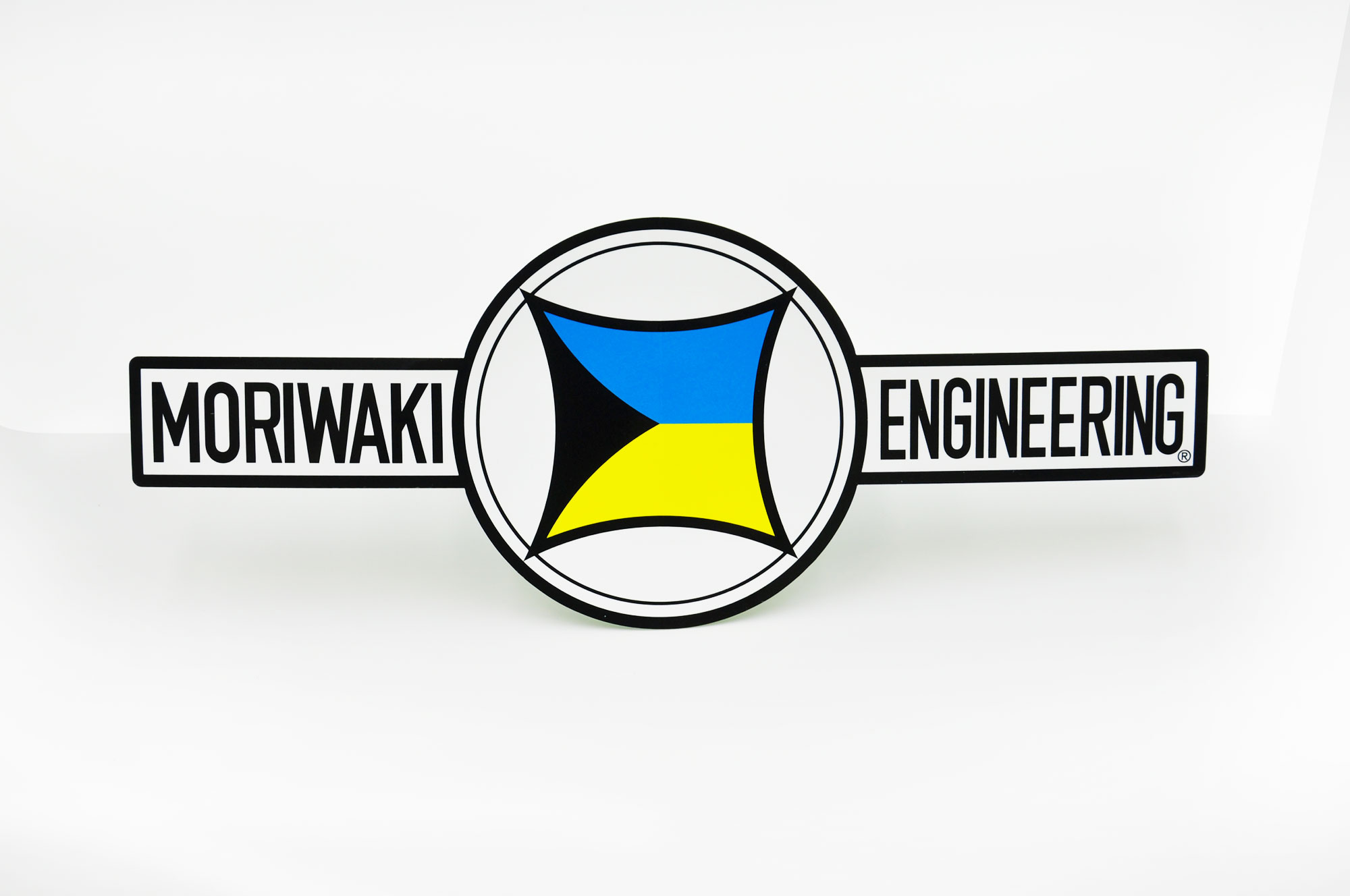 Decal LARGE MORIWAKI TRADE MARK