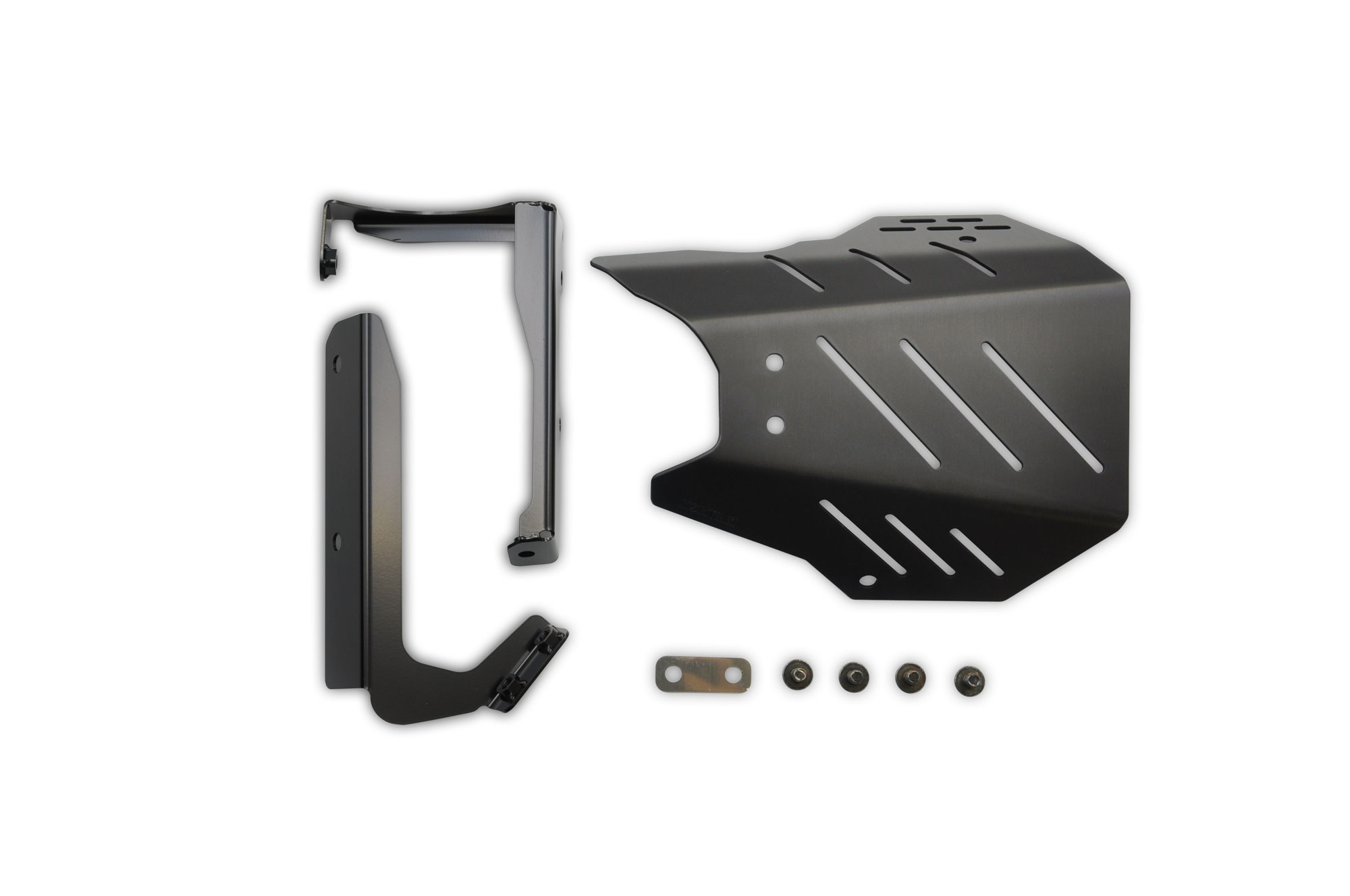 CB650R 19- CROSS SHORT Exhaust Guard BLACK