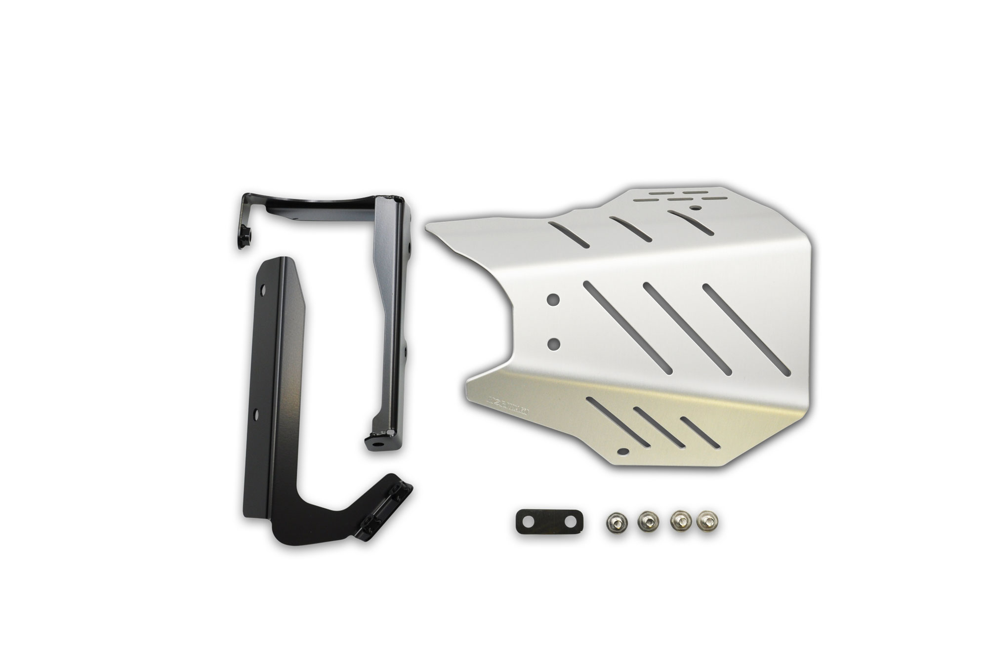 CB650R 19- CROSS SHORT Exhaust Guard SILVER