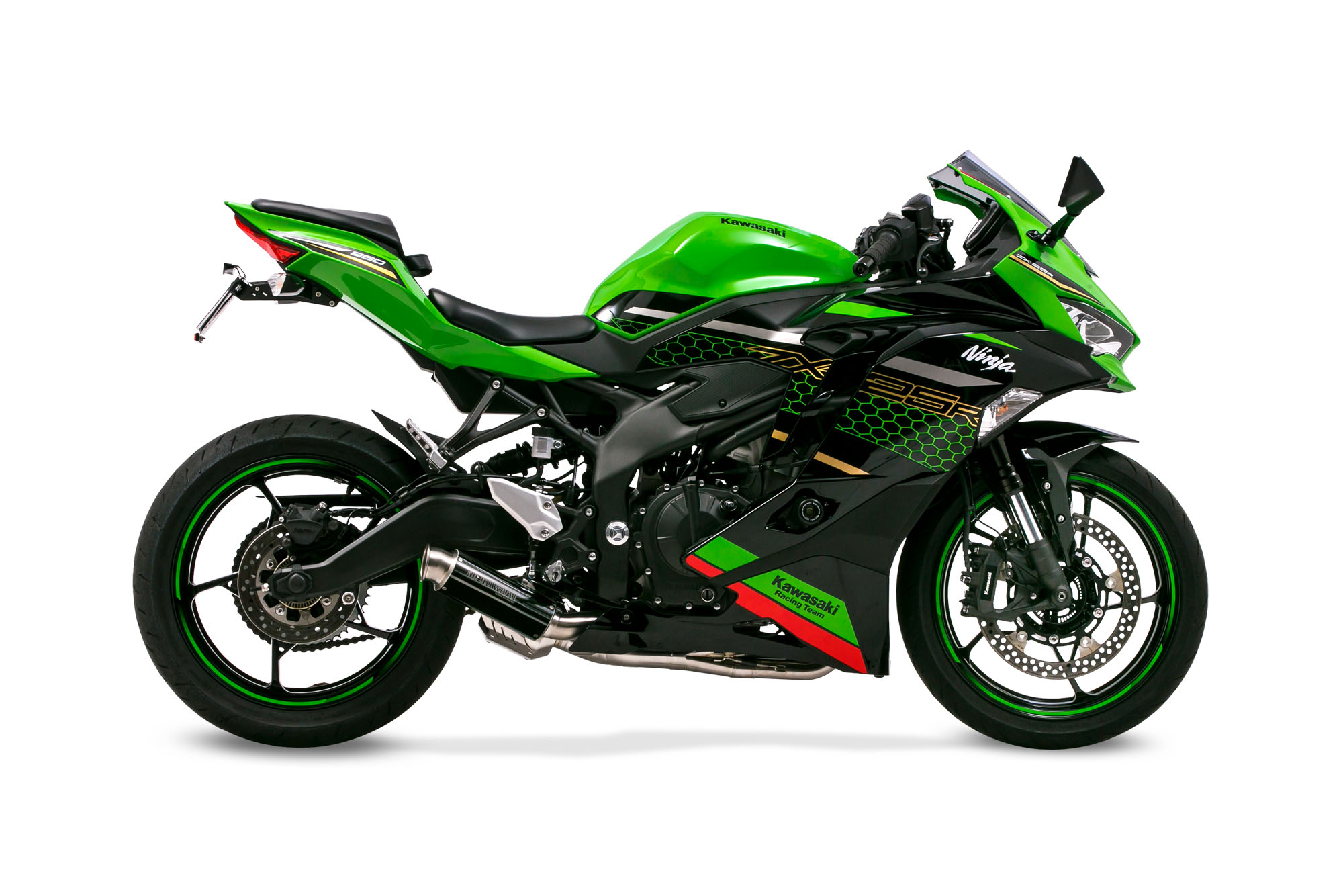 Ninja ZX-25R 21- FullExhaust CROSS SHORT ZERO BP-χ