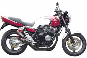 CB400SF H-VTEC 99-07 FullExhaust ONE-PIECE BK