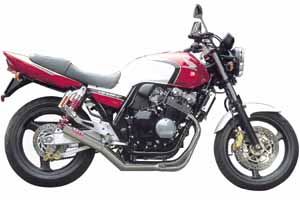 CB400SF H-VTEC 99-07 FullExhaust ONE-PIECE STAINLESS